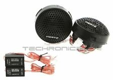 "HERTZ DT24.3 +2YR WARANTY 1"" 160W DIECI CAR AUDIO COMPONENT TWEETER SPEAKERS SET"