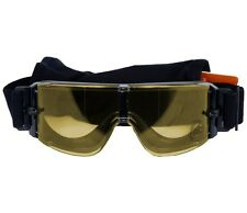 LANCER TACTICAL AIRSOFT FRAMELESS YELLOW SAFETY GOGGLES Googles Glasses Eye Wear