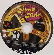Pimp My Ride (Sony PlayStation 2, 2006) - Loose Disc