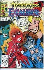 Excalibur 1988 series # 6 near mint comic book