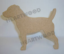 PATTERDALE TERRIER DOG SHAPE IN MDF (135mm x 18mm thick)/WOODEN CRAFT SHAPE