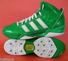 RARE~Adidas ADIPOWER HOWARD 2 ST PATRICK'S DAY crazy basketball fast Shoe~M
