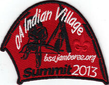2013 National Jamboree Promo Tent Patch Series, OA Indian Village, Mint!