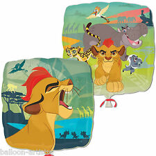 """18"""" Disney's The Lion Guard King Children's Birthday Party Square Foil Balloon"""