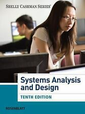 Systems Analysis and Design 10th Edition  By Harry J. Rosenblatt 2013 Hard Cover