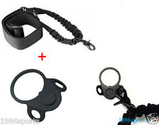 Details about  Ambidextrous Sling Plate Mount Adapter + Single 1 Point Tactical