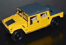 Maisto 1/18 Car 1998 HUMMER Humvee 6.5L Turbo Disel Yellow, black soft top 31859