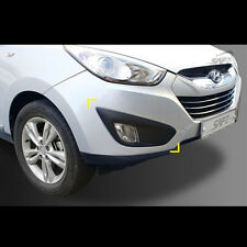 Fog lamp Molding Garnish Black matt For Hyundai Tucson IX35 2010~2013