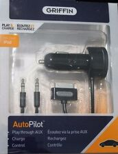 Griffin AutoPilot Control Car Charger w/AUX Cable for iPhone 4 / 4S New