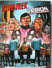 DC Paperback 60 Softcover: STAR TREK / LEGION OF SUPER-HEROES (Panini 2013) NEU