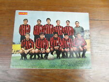 Photo-poster FOOTBALL vintage : EQUIPE US BOULOGNE SUR MER Saison 1968-1969