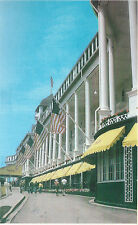 Grand Hotel    Street Side View    Mackinac Island  MI   Postcard 13