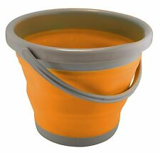 UST FlexWare Bucket, Orange Perfect for Carrying Firewood, Water, Gear New