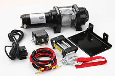 4000 Lb Electric Winch 12V With Controller ATV UTV Trailer