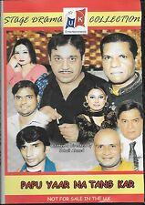 PAPU YAAR NA TANG KAR - COMEDY STAGE DRAMA - DVD - FREE UK POST