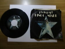 Old 45 RPM Record - Apple 1865 Ringo Starr - Photograph / Down and Out slv. torn