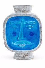 """Brand New - Jonathan Adler Turquoise Monsieur 10"""" Vase"""