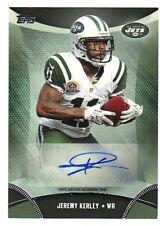 2013 Topps Jeremy Kerley Autograph New York Jets #TA-JK