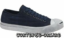 Mens CONVERSE JACK PURCELL® Blue GARMENT DYE PLAID Trainers Shoe 47.5 UK SIZE 12