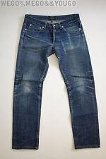 A.P.C. APC Petite New Standard Butler Fades Repairs Denim Jeans size 28 x 27