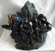HALO REACH Noble TEAM STATUA DIORAMA / da Legendary Edition / NO SCATOLA o gioco