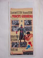 locandina-IL PRINCIPE GUERRIERO-CHARLTON HESTON-BOONE-AVVENTURA-@25316