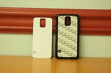 50 Blank Samsung Galaxy S5 Black Plastic Phone Cases Dye Sublimation Wholesale