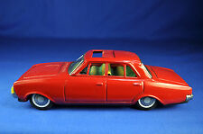 Bandai: Ford Taunus 17 M, rot / red, 1960er / -ies, Friktion / friction, Japan