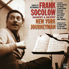 Frank Socolow - COMPLETE RECORDINGS – NEW YORK JOURNEY Fresh Sound CD