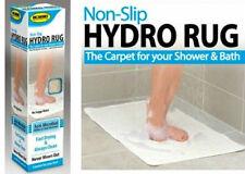 Shower Hydro Rug Non Slip Floor Carpet Anti-Microbial Drain Bath Bathroom Stain