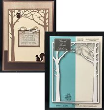 GRAND FOREST ARCHWAY Steel Cutting Die MEMORY BOX dies 99153 Trees,leaves,frame