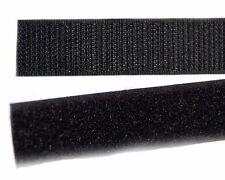 25 Metre 3/4 inch(20 mm) Polyster hook loop velcro tape (BLACK COLOR)