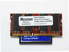 128MB EXM128 & 8GB CF Card Akai MPC500 MPC1000 MPC2500