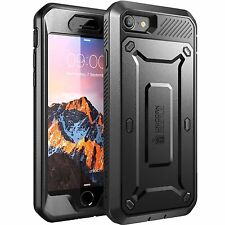 Apple iPhone 7 Case Dual Layer Cover Built In Screen Protector Super Tough