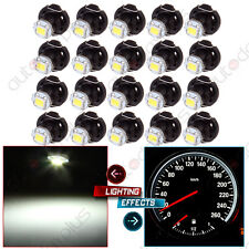 20x T4/T4.2 Neo Wedge 2835 LED Dash A/C Heater Climate Light Switch Bulbs White
