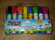 ADVENTURE TIME 8 PACK MARKERS