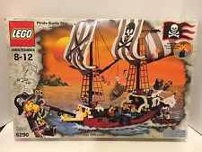 Lego 6290 Pirate Battle Ship 100% Complete with Original Box & Original Manual!