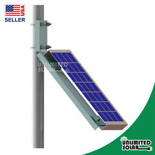Solar Panel Universal Side of Pole / Wall Solar Panel L-Style Mounting