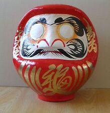 Poupée Daruma-Rouge du Japon --- hauteur 23cm / Rot Daruma Puppe Japans --- 23cm