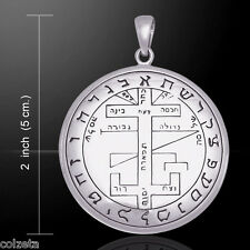 The MYSTICAL SACRED SEAL of SOLOMON HIMSELF *.925 Silver pendant by Peter Stone