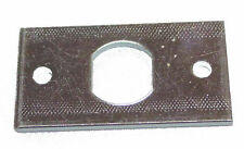 Lock Mounting Plate For Standard Cam Locks Used On Coin Operated Pool Tables