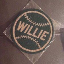 "RARE 1950's Willie Mays ""Willie"" Felt Patch Vintage HOF New York Giants"
