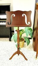 Frederick Wooden Music Stand Violin F Hole Walnut