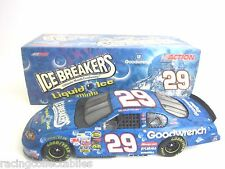 2004 KEVIN HARVICK #29 GM GOODWRENCH LIQUID ICE 1/24 NASCAR DIECAST FREE SHIP