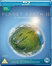 PLANET EARTH II BBC Complete Series 2 David Attenborough NEW BLU-RAY Region Free