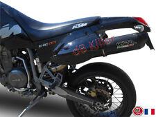 SILENCIEUX GPR FURORE ALU NOIR KTM 640 LC4 SUPERMOTARD 2003/04