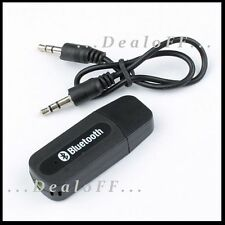 WIRELESS USB BLUETOOTH CAR AUDIO MUSIC RECEIVER 3.5MM ADAPTER BARND NEW
