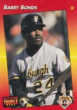 PITTSBURGH PIRATES BARRY BONDS 1992 DONRUSS TRIPLE PLAY #116
