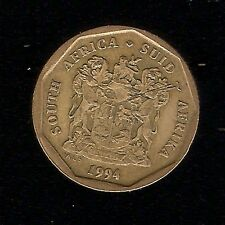 1994 20 Cents SUID-AFRIKA - SOUTH AFRICA COIN A King Protea FLOWER