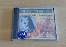 GIUSEPPE DE LUCA ON RADIO - CD SIGILLATO (SEALED)